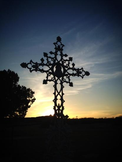 cemetery cross