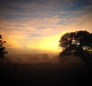 cemetery sunrise